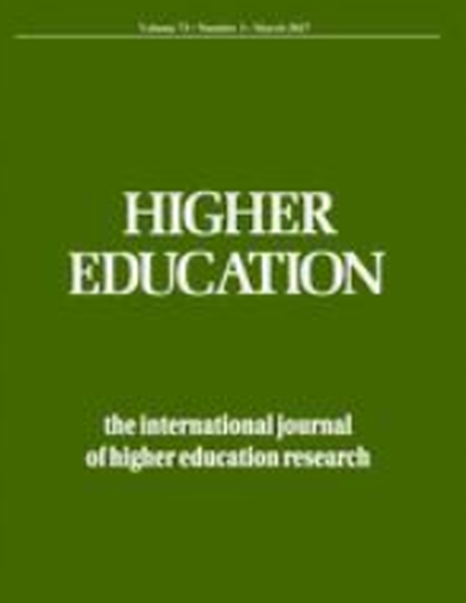research in higher education journal Research in higher education is directed to those concerned with the functioning not every article in a journal is considered primary research and therefore.