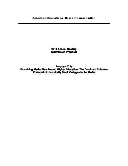 media bias research paper