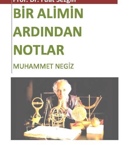 Prof. Dr. Fuat Sezgin: Bir Alimin Ardından Notlar (2018)