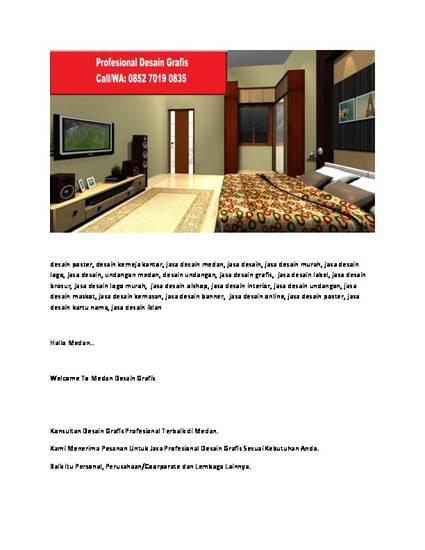Call 0852 7019 0835 Jasa Desain Eksterior Di Medan By Medandesaingrafis Medandesaingrafis