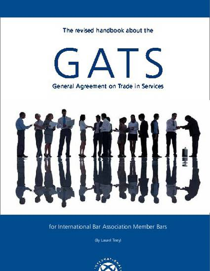 The Revised Handbook About The Gats General Agreement On Trade In