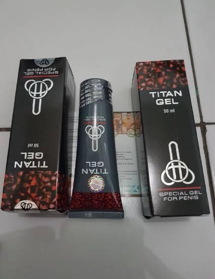 alamat toko jual titan gel asli di ambon cod free ongkir www