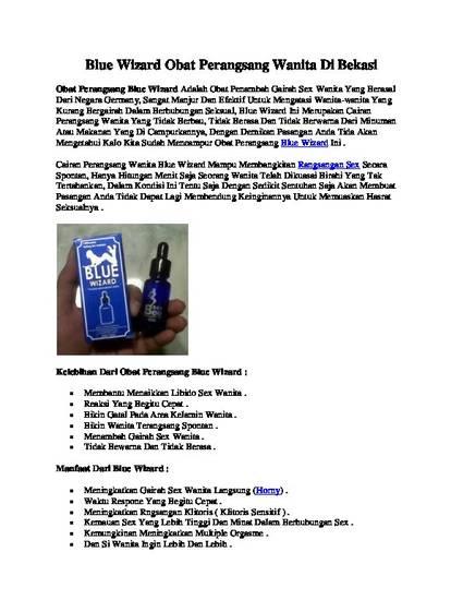 blue wizard obat perangsang wanita di bekasi by toko bekasi