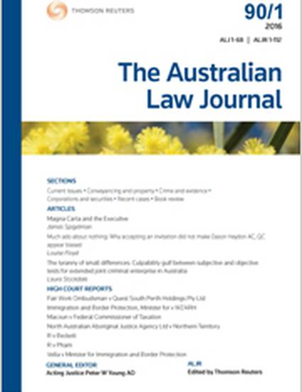 development of australian law Home » an introduction to the common law in australia an introduction to the common law in australia website development.