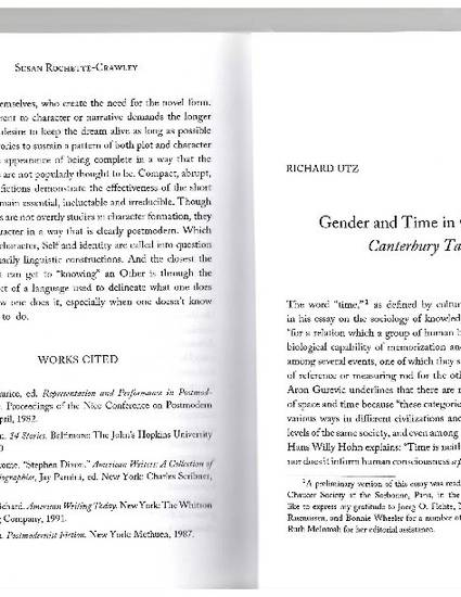 Gender And Time In Chaucers Canterbury Tales By Richard Utz Gender And Time In Chaucers Canterbury Tales By Richard Utz Writing Services In Florida also Family Business Essay  Essay On Importance Of English Language
