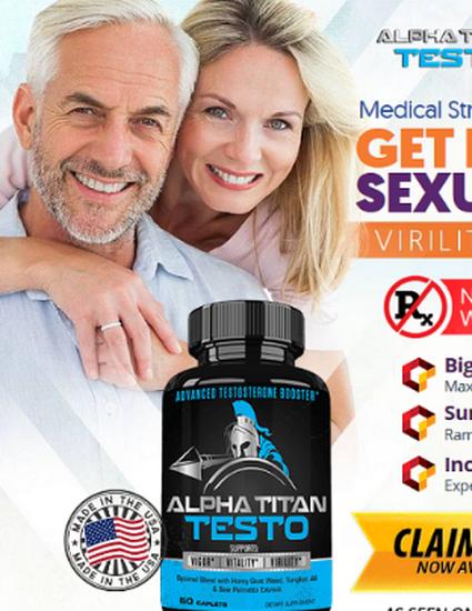 Alpha Titan Testo United Kingdom (UK) Reviews Website!