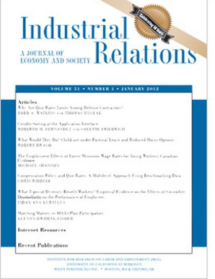 industrial relation Industrial relations essay the role of the government on industrial relations is very important as it sets the legal framework that industrial relations operates in appropriate industrial relations legislation should recognize the requirements of.