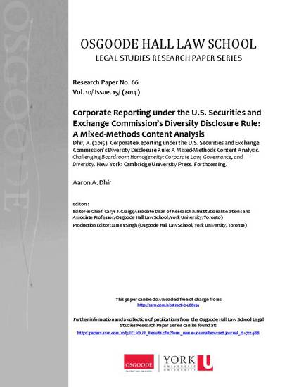 legal research paper