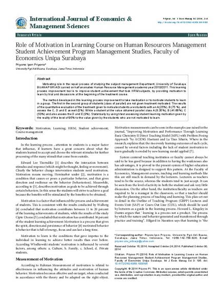 a course on human motivation On course offers educators innovative strategies for empowering students to become active, responsible learners synthesizing the best wisdom from innovators in psychology, education, business, sports, and personal effectiveness, the on course success principles represent eight of the essential things that good learners believe and do.