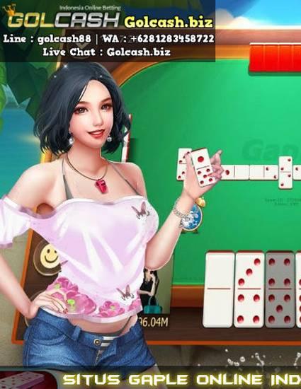 """Situs Gaple Online Indonesia Uang Asli | GOLCASH"" by ..."