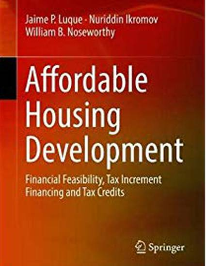 Affordable Housing Development: Financial Feasibility, Tax Increment