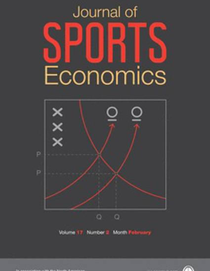 peculier economics of professional sports Read the peculiar externalities of professional team sports, economic inquiry on deepdyve, the largest online rental service for scholarly research with thousands of academic publications available at your fingertips.